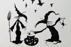 Halloween Cauldron is an original circular by JamiePattersonArt