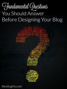 Your blog design is the first impression made on new visitors to your site. These questions will help you decide what direction you want to take your blog design before you start.