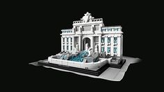 Recreate the destinations that shape your life with LEGO® Architecture. From iconic landmarks to city skylines, pick your favorite set and admire the view. Lego Grand Emporium, Lego Architecture White House, Christmas In Rome, Building Toys, Building Products, Flatiron Building, Led Light Kits, Trevi Fountain, Lego Minecraft