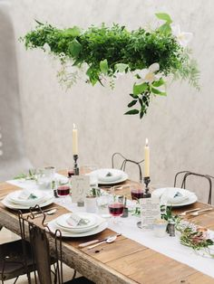 Romantic, natural wedding inspiration: http://www.stylemepretty.com/2014/07/08/romantic-natural-wedding-inspiration/ | Photography: http://defioreart.com/