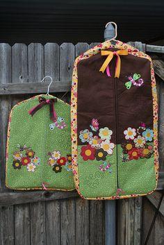 girly garment bags