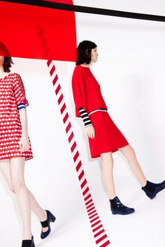 Modeconnect.com - Sonia by Sonia Rykiel's Resort 2014 collection is bold and playful, mashing together her signature bright hues and fun prints to create wearable summer basics.