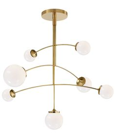 prescott large mobile chandelier by kate spade new york | new lighting collection now available for pre-order! #circalighting