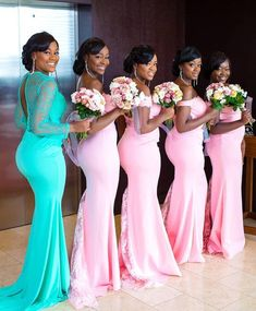 Take a look at the latest bridal train styles in Africa- NIGERIAN 2020 WEDDING STYLES to get inspired and find out how to look gorgeous and chick. African Bridesmaid Dresses, African Wedding Attire, Designer Bridesmaid Dresses, Wedding Bridesmaid Dresses, Lace Bridesmaids, Bridal Gowns, Wedding Gowns, Wedding Events, Wedding Outfits