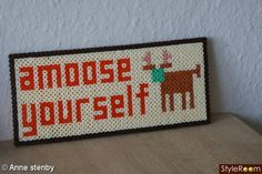 Amoose yourself hama perler - Anne Stenby