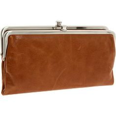 Hobo International Caramel Vintage Leather Clutch