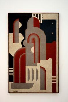 Victor Servranckx - Painting Opus 5, 1923