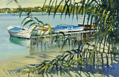 Paul Rafferty | Through the Reeds, Cap d'Antibes