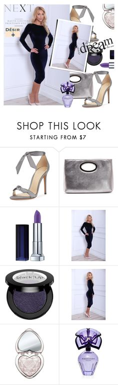 """""""DesirVale"""" by selmir ❤ liked on Polyvore featuring Alexandre Birman, Donald J Pliner, Too Faced Cosmetics, BCBGMAXAZRIA, Nicole, StreetStyle, chic, floral and dress"""