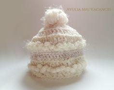 キラふわ*ボンボンつきニット帽(オフホワイト)No.02|Ayulia Miu Vacances