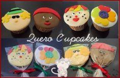 Cupcakes do Sítio do Pica-Pau Amarelo. - Quero Cupcakes