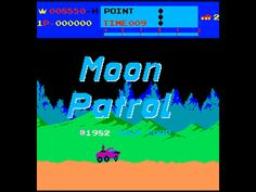 Moon Patrol, Arcade, Irem, 1982