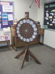 Prize Wheel School Family Fun Night Carnival Game