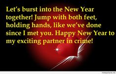Funny new year message for lovers