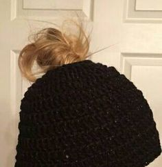 Check out this item in my Etsy shop https://www.etsy.com/listing/503711337/messy-bun-hat-made-to-order-available-in