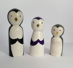 Hey, I found this really awesome Etsy listing at https://www.etsy.com/uk/listing/400721821/penguin-family-peg-dolls