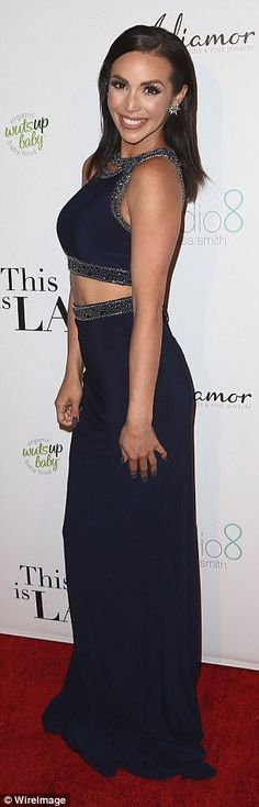Vanderpump Rules star Scheana Marie hits Hollywood red carpet | Daily Mail Online