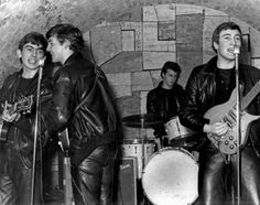 The Beatles Through the Years Pictures - Beatles Timeline: 1961: Beatles at the cavern club   Rolling Stone