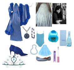 """""""Blue Diamond and Blue Pearl"""" by girl-time-2015r ❤ liked on Polyvore featuring Renato Balestra, ASOS, Frye, Bling Jewelry, Lime Crime, Derek Lam, Davidoff and Kate Marie"""
