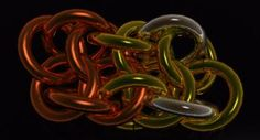 Vipera Berus chain maille tutorial