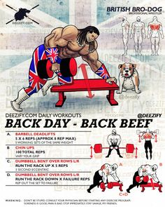 Back Day Workout Program For Thickness #BackDay #Lats #fitness #bodybuilding #swole