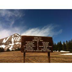 Georgia Pass Continental Divide Colorado Hiking
