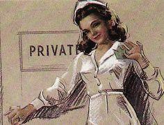 Vintage Nurse Pinup