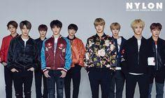 NCT 127 in Nylon Korea April 2017 Look 1