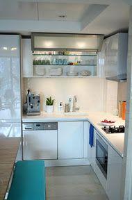 Sigh, neat kitchen.
