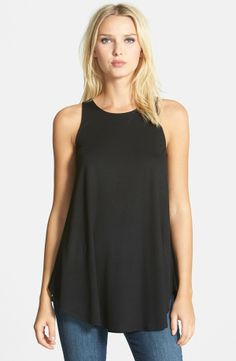 Eileen Fisher Sleeveless Jersey Tunic