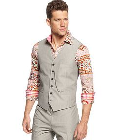 INC International Concepts Vest, Roy Vest - Blazers & Sport Coats - Men - Macy's