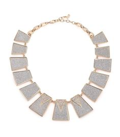 ABS | Gold Coast Glitter Panel Collar Necklace | SAKS OFF 5TH