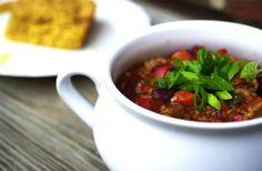 Vegetarian Chili - Live It. Share It.