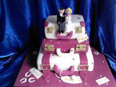 - Suitcase Wedding Cake
