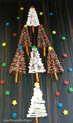 The fastest and easiest Christmas Tree treat to make! @?? ?? S. Simple Stuff