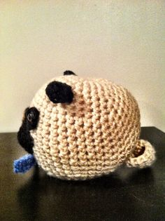 crocheted pug - Google Search