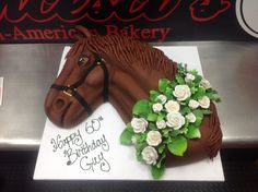 Bring the Horse Track home for a Birthday celebration and bet who can eat the most! #HorseCake