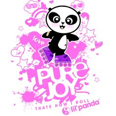 Find you joy and go with it! A panda that loves to skate. http://lilpandablog.blogspot.com/