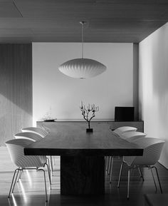 remash:    bubble lamp   dining room ~ george nelson designer   earl carter photo