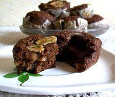 Bananowe muffinki razowe | Zdrowe Przepisy Pauliny Styś
