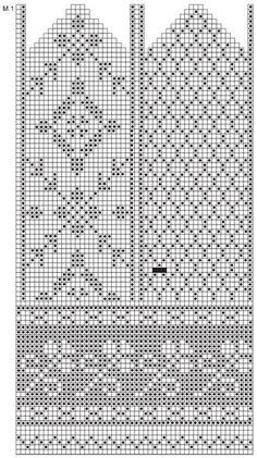 New knitting fair isle chart drops design ideas Knitted Mittens Pattern, Fair Isle Knitting Patterns, Knit Mittens, Knitting Charts, Knitted Gloves, Knitting Stitches, Knitting Designs, Crochet Pattern, Free Pattern