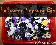 Halloween Sensory Bin - 3Dinosaurs.com