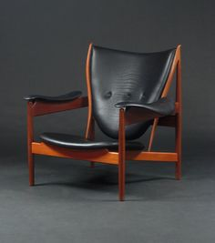 The Cheiftain chair by Finn Juhl. One of the finest of the mid century Danish designs.