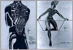 "Original ""Tron"" concept art by Syd Mead"