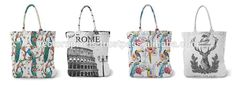 cotton canvas tote bag custom printed canvas tote bags