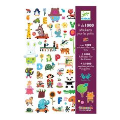 A bumper pack of beautifully illustrated stickers including every theme you could want! For all tastes and suitable for all occasions, these stickers are suitab