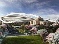 Zaha Hadid'in tasarladığı Japon Ulusal Stadyumu tasarımı aralarında Toyo Ito, Sou Fujimoto, Kengo Kuma ve Riken Yamamoto'nun bulunduğu mimarların itirazı ile karşılaştı.