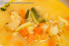 supa-crema-de-legume-02 Thai Red Curry, Ethnic Recipes, Food, Eten, Meals, Diet