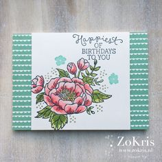 ZoKris: Birthday Blooms