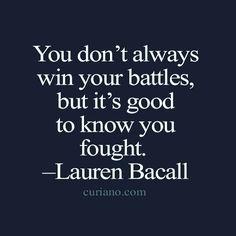 showing up. #gutsygirlart #laurenbacall #quoteoftheday